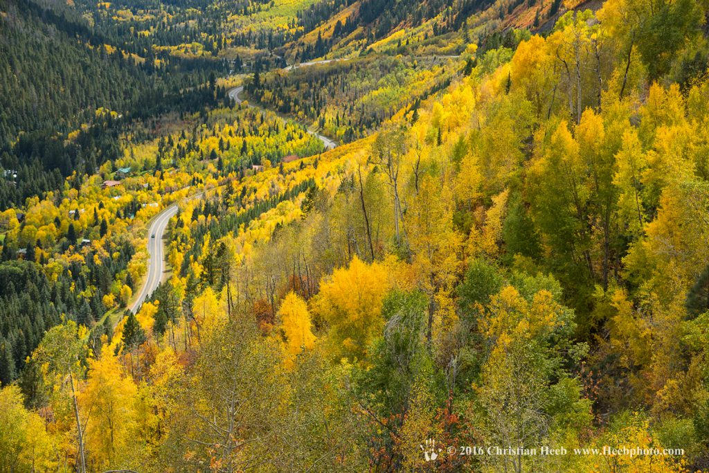 USA, Colorado, McClure Pass in the Colorado Rockies