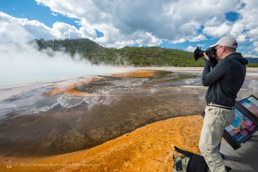 USA, Wyoming, Yellowstone, National Park, UNESCO, World Heritage, Grand Prismatic Spring,, thermal, nature, volcanic