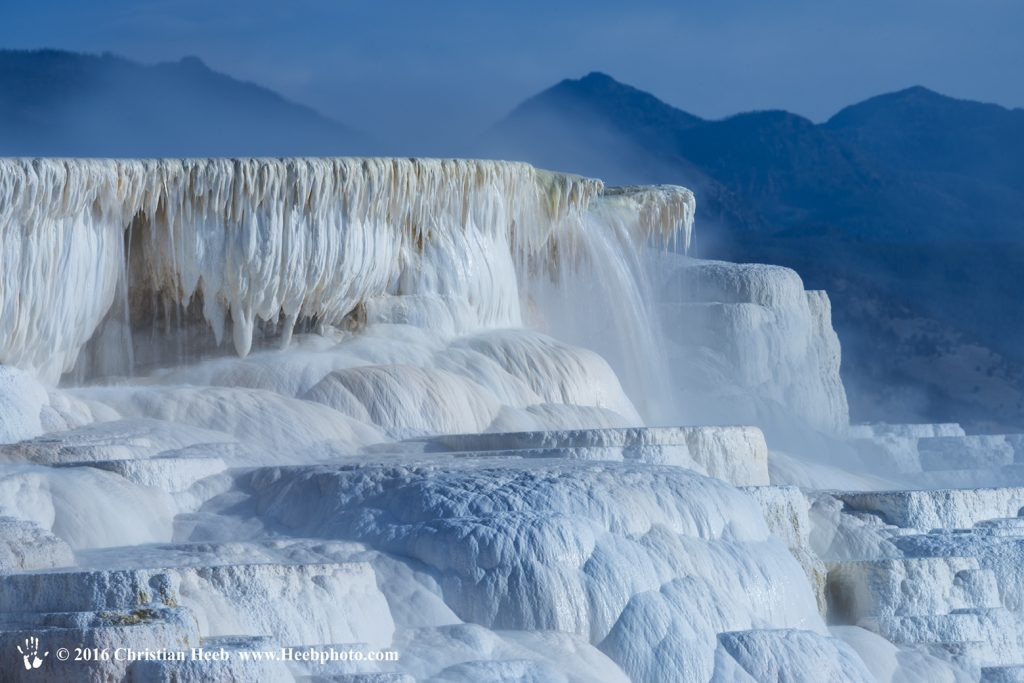 USA, Wyoming, Yellowstone, National Park, UNESCO, World Heritage, Mammoth Hot Springs