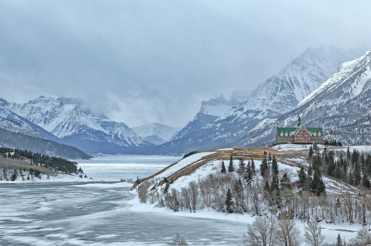 Winter in den Rockies 2023